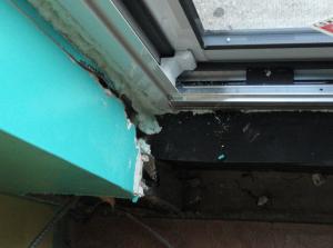 Balcony Door/Window Replacement process...